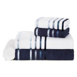 Jogo-de-Banho-Karsten-Fio-Penteado-5-Pecas-Lumina-Branco-Marinho-Azul