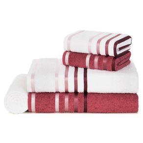 Jogo-de-Banho-Karsten-Fio-Penteado-5-Pecas-Lumina-Branco-Rosa-Malaga-Roxa