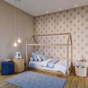 Tecido-para-Parede-Karsten-Wall-Decor-Teddy-Azul