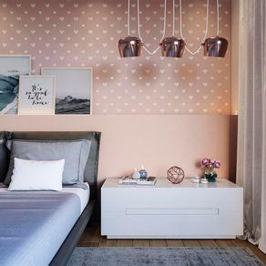 Tecido-para-Parede-Karsten-Wall-Decor-Heart-Blush