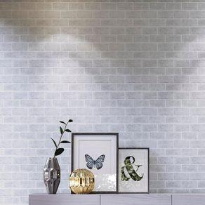 Tecido-para-Parede-Karsten-Wall-Decor-Brick-Branco