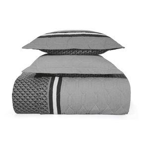 Cobre-Leito-Queen-Karsten-com-2-Porta-Travesseiros-180-Fios-Percal-Icaro