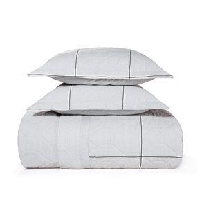 Cobre-Leito-Casal-Karsten-com-2-Porta-Travesseiros-180-Fios-Percal-Antoni