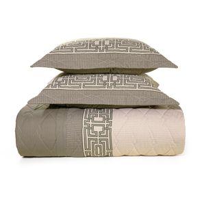 Cobre-Leito-King-Karsten-com-2-Porta-Travesseiros-180-Fios-Percal-Thales