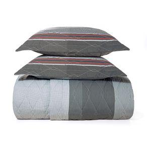 Cobre-Leito-King-Karsten-com-2-Porta-Travesseiros-180-Fios-Percal-Levi