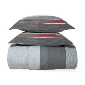 Cobre-Leito-Queen-Karsten-com-2-Porta-Travesseiros-180-Fios-Percal-Levi