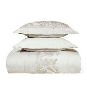 Cobre-Leito-Queen-Karsten-com-2-Porta-Travesseiros-180-Fios-Percal-Mirela