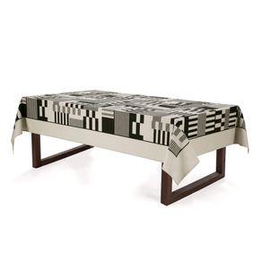 Toalha-de-mesa-Retangular-Karsten-6-Lugares-Sempre-Limpa-Mosaico