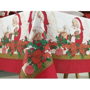 Toalha-de-mesa-de-Natal-Quadrada-Karsten-4-lugares-Tempo-de-Sonhar