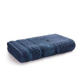 Toalha-Banhao-Karsten-Fio-Penteado-Norman-Marinho-Azul