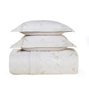 Cobre-Leito-King-Karsten-com-2-Porta-Travesseiros-180-Fios-Percal-Esther