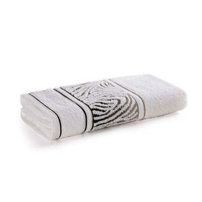 Toalha-de-Rosto-Karsten-Fio-Cardado-Animale-Branco-Cinza