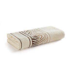 Toalha-de-Rosto-Karsten-Fio-Cardado-Animale-Ivory-Bege
