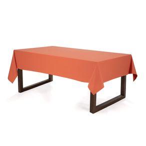 Toalha-de-mesa-Retangular-Karsten-6-lugares-Essencial-Duo-Terracota