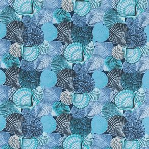 Tecido-Acquablock-Karsten-Impermeavel-Coquille-Azul