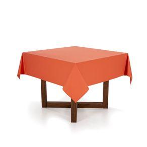 Toalha-de-mesa-Quadrada-Karsten-4-lugares-Essencial-Duo-Terracota