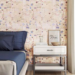 Tecido-para-Parede-Karsten-Wall-Decor-Correio