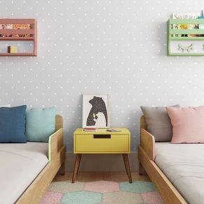 Tecido-para-Parede-Karsten-Wall-Decor-Polka