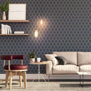 Tecido-para-Parede-Karsten-Wall-Decor-Olympo-Marinho