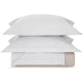 Cobre-Leito-Queen-Karsten-com-2-Porta-Travesseiros-180-Fios-Percal-Rebeca