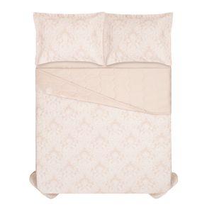 Cobre-Leito-Casal-Karsten-com-2-Porta-Travesseiros-300-Fios-Percal-Coari