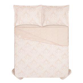 Cobre-Leito-Queen-Karsten-com-2-Porta-Travesseiros-300-Fios-Percal-Coari