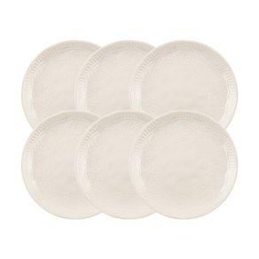Jogo-de-Pratos-Sobremesa-Karsten-Home-6-Pecas-Porcelana-Renda-Branco
