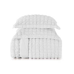 Edredom-Queen-Karsten-com-Porta-Travesseiros-100--Algodao-e-Microfibra-Hilton-Branco