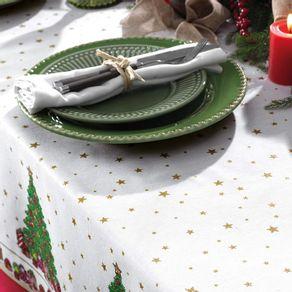 Toalha-de-mesa-de-Natal-Quadrada-de-Cha-Karsten-Tempo-de-Reunir