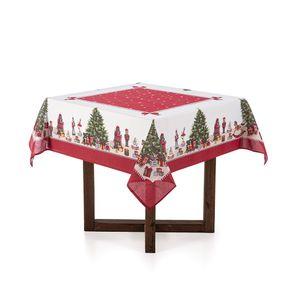 Toalha-de-mesa-de-Natal-Quadrada-Karsten-4-lugares-Arvore-Encantada