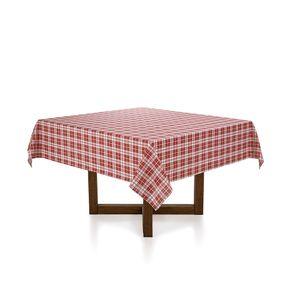 Toalha-de-mesa-Quadrada-Karsten-6-lugares-Tartan-Natal