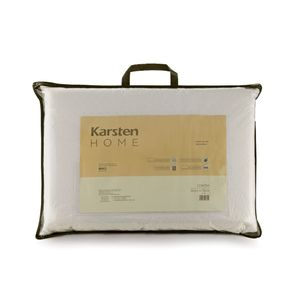 Travesseiro-Karsten-100--Poliester-Silicomfort-Favos-de-Mel-Cinza