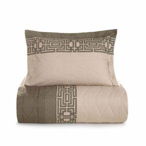 Cobre-Leito-King-Karsten-com-2-Porta-Travesseiros-180-Fios-Percal-Thales-Branco
