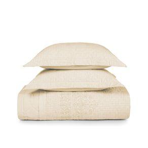 Cobre-Leito-Casal-Karsten-com-2-Porta-Travesseiros-180-Fios-Percal-Doris