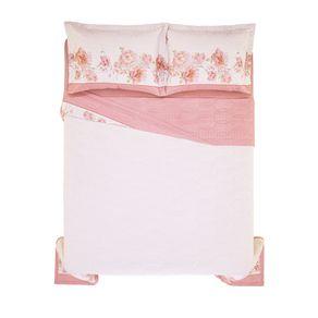 Cobre-Leito-Queen-Karsten-com-2-Porta-Travesseiros-180-Fios-Percal-Mabelle