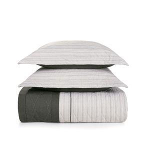 Cobre-Leito-Queen-Karsten-com-2-Porta-Travesseiros-180-Fios-Percal-Vileto