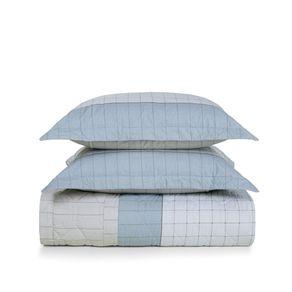 Cobre-Leito-Casal-Karsten-com-2-Porta-Travesseiros-180-Fios-Percal-Nodari