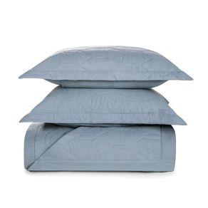 Cobre-Leito-King-Karsten-com-2-Porta-Travesseiros-180-Fios-Percal-Liss-Allure
