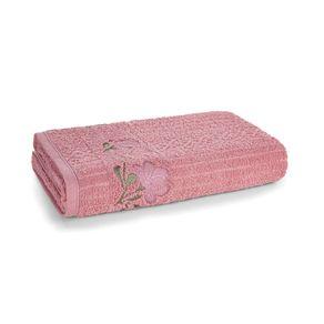 Toalha-de-Banho-Karsten-Fio-Cardado-Yana-Lady-Pink--Rosa--Verde