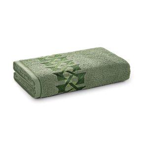 Toalha-de-Rosto-Karsten-Fio-Cardado-Duarte-Verde-Bonsai--Verde