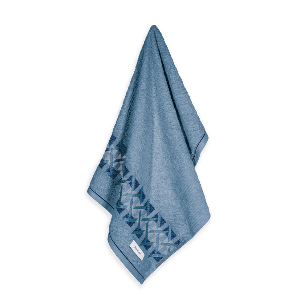Toalha-de-Rosto-Karsten-Fio-Cardado-Duarte-Azul-Crepusculo--Marinho