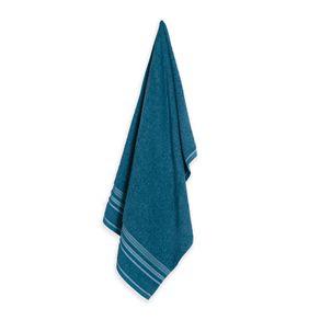 Toalha-de-Banho-Karsten-Fio-Open-End-Muniz-Azul-Petroleo--Branco--Azul