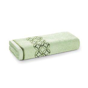 Toalha-de-Rosto-Karsten-Fio-Cardado-Nardin-Verde-Cha--Verde--Verde-Escuro