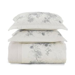 Cobre-Leito-Casal-Karsten-com-2-Porta-Travesseiros-180-Fios-Percal-Livia-Branco