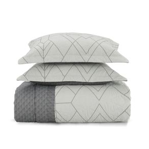 Cobre-Leito-King-Karsten-com-2-Porta-Travesseiros-180-Fios-Percal-Solano-Branco
