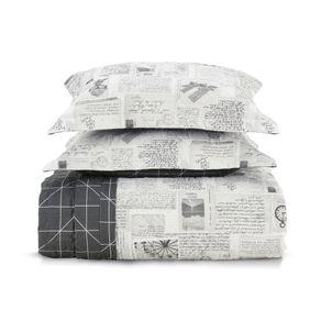 Cobre-Leito-Queen-Karsten-com-2-Porta-Travesseiros-180-Fios-Percal-Benicio