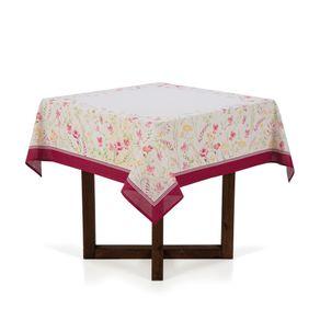 Toalha-de-mesa-Quadrada-Karsten-4-lugares-Antiformiga-Flores-do-Campo