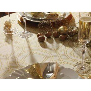 Toalha-de-mesa-de-Natal-Retangular-Karsten-8-lugares-Esplendor-de-Natal