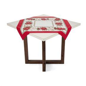 Toalha-de-mesa-Quadrada-de-Cha-Karsten-Estrela-do-Natal-Branco