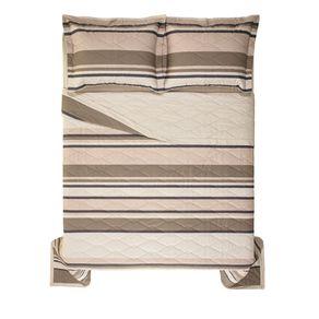 Cobre-Leito-Queen-Karsten-com-2-Porta-Travesseiros-180-Fios-Percal-Caetano